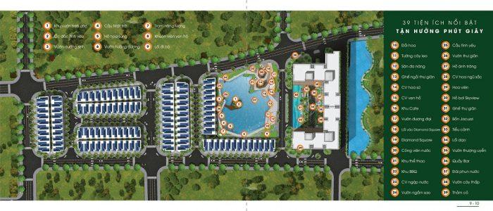 mặt bằng tiện ích dự án green star sky garden quận 7