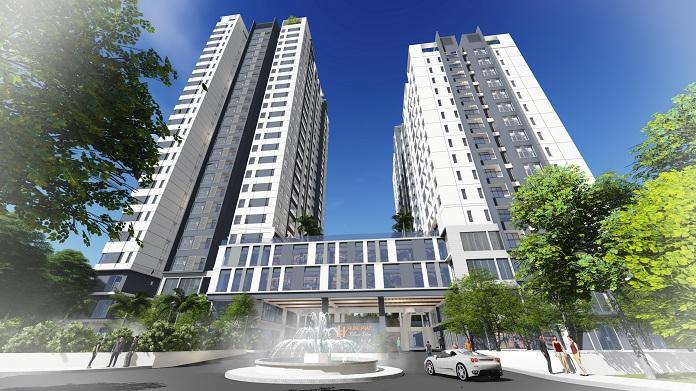 vị trí dự án căn hộ chung cư hưng phát silver star nhà bè