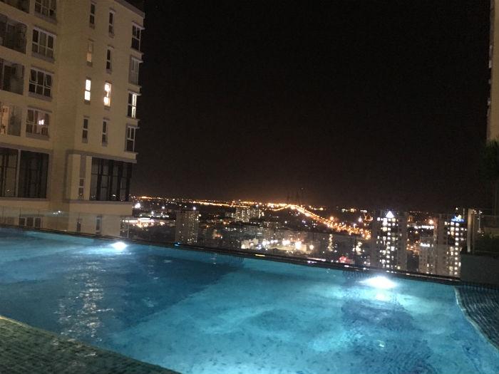 hồ bơi dự án căn hộ chung cư the golden star quận 7