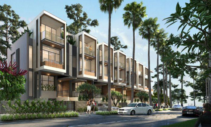 thiết kế nhà phố dự án summerland