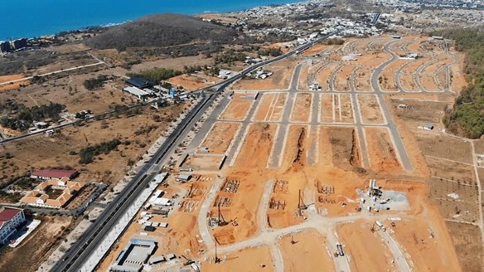 tiến độ tháng 4/2020 dự án mũi né summerland resort