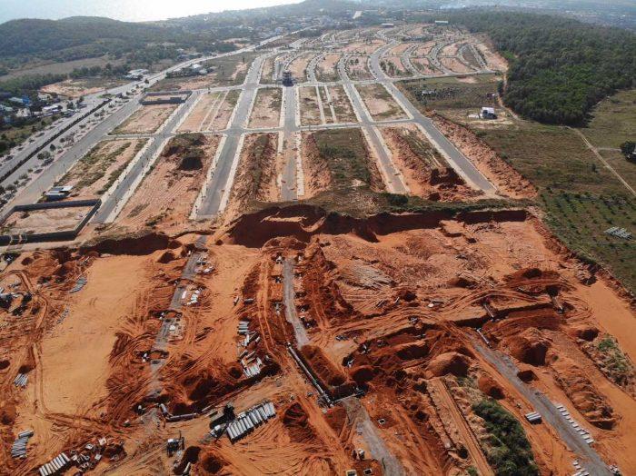 tiến độ thi công, pháp lý dự án Mũi Né Summer land Resort