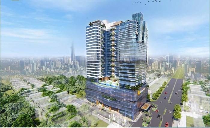 Phối cảnh dự kiến dự án căn hộ Hưng Lộc Phát Complex tại KDC Trung Sơn, Bình Chánh